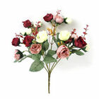 21 Heads Artificial Fake Silk Rose Flowers Bouquet Wedding Party Home Decoration