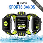 Sports Silicone Band Replacement Watch for Apple Watch Nike+ iWatch Series 3/2/1