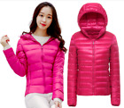 Women Ultralight Hooded Weight 90% Duck Down Coat Packable uniqlo's style S-7XL