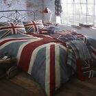 Home Collection Grey 'Vintage Union Jack' Bedding Set