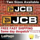 JCB banner for Workshop, Garage, Man cave, Showroom
