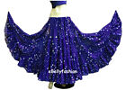Royal Blue Cotton Tribal 4 Tier Gypsy Skirt 25 Yd BellyDance Tie