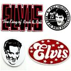 New Elvis Presley Patch Sew On Iron Embroidered Rock n Roll ROCKABILLY Appliques