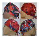 The Amazing Spiderman Collection Unisex Surgical Scrub Hat Chemo Cap