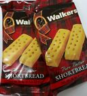 Walkers Pure Butter Thin Shortbread Fingers - Twin Packs (2 Fingers per pack)