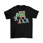 adult funny game - Yoshi School T-Shirt Unisex Adult Cotton Funny Sizes Nintendo Switch Game NEW