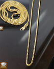 Real 10k Yellow gold chain 1.5 mm, Rolo box chain various size,stunning design