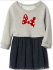 Baby Gap Disney Baby Minnie Mouse quilted-sleeve layer dress  $45