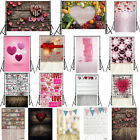 Romantic Valentine's Day Photography Background Photo Props Backdrop 3x5ft/5x7ft