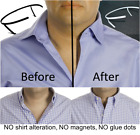 Collar stay - Collar Shaper - Works with Polo, Button-down, Casual & Dress Shirt
