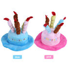 Candles Design Pet Costume Happy Birthday Hats Accessory for Dogs Cat Puppy