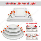 6/8/15/20W LED Recessed Ceiling Panel Down Lights Fixture Hole Adjustable Lamp