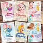10 Personalised Photo 1ST FIRST BIRTHDAY PARTY INVITATIONS INVITES Free Proof