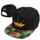 Baseball Cap Cannabis Marijuana Weed Pot 420 Hat Snapback Adjustable Hip Hop Men