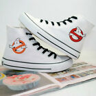 New!Ghostbusters Logo Casual Canvas Shoes Unisex cosplay Sneakers