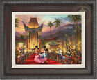 Thomas Kinkade Mickey and Minnie in Hollywood 12 x 16 Limited Edition G/P Canvas