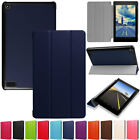 For Amazon Kindle Fire HD 10 2017 7th Gen PU Leather Magnetic Folding Case Cover