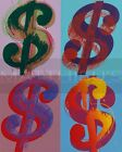 Andy Warhol-$, Canvas/Paper Print