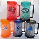 NFL Team Logo 16oz Freezer Mug Color Insert by The Memory Co -Select- Team Below $22.95 USD on eBay