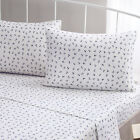 Brielle Fashion 100% Cotton Jersey Anchor Design Bed Linen Collection NEW