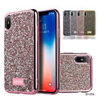Bling Glitter Sparkle Rubber Soft TPU Silicone Case Cover For Apple iPhone X