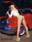 Greg Hildebrandt-Grease Monkey, Photo Paper Print, Pinup Girl