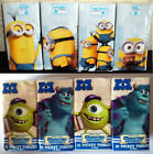 MINIONS & MONSTERS UNIVERSITY POCKET TISSUES 4 packs 3-PLY x10 WHITE School bag