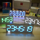 Внешний вид - 6-Digit LED Large Screen Digital Tube Clock Kit Touch Control time display tool