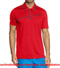 NEW Oakley SS Good Times Polo High Performance Men's Size L M Red MSRP $120
