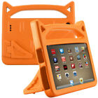 Tablet Rubber Stand Handle Protect Case For Amazon Kindle Fire HD 8 2017 7th Gen