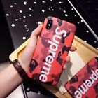 Hot Cool Supreme Camouflag TPU Soft Phone Case Cover Back Skin Bumper For iPhone