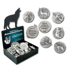 Animal-Speak Charm by Deva Designs NEW Pewter Animal Pocket Stone - Choose One!