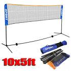 Badminton Volleyball Tennis Net Adjustable Height Poles Stand Set Indoor Outdoor <br/> 3 Sizes; Free Shipping; Multi-function; Carry Bag