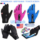 US Touch Screen Warm Cycling Gloves Thick Bike Mountain Climbing Gloves Mitts