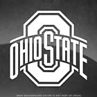 """Ohio State Buckeyes Logo Vinyl Decal Sticker - 4"""" and Up - More Colors!"""