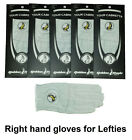 New 5 Pack 100% Cabretta Leather Golden Eagle Golf Glove Right Hand Large