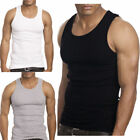 Lot of 6 Men's Tank Top Camo Sleeveless Gym A-Shirt Workout Fitness Army Muscle