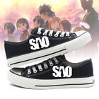 online shopping for football shoes - Sword Art Online Anime Shoes SAO symbol Cosplay Unisex Canvas Shoes Leisure