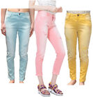 Desigual Cyrene Coloured Jeans 38-46 UK 10-16 RRP84 Blue Yellow Pink