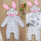 baby stores clothes - Newborn Baby Girl Boy Bunny Ear Romper Jumpsuit Playsuit Outfit Clothes US Store