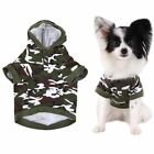 Camouflage Pet Puppy Clothes Coat Cat Dog Hoodie Sweater Jacket Costume SALE US