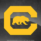 """Cal Golden Bears C Logo Vinyl Decal Sticker - 4"""" and Up - More Colors!"""