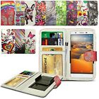 For Gigabyte GSmart Mika MX - Clip Printed Series PU Leather Wallet Case