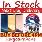 Samsung S8 G950F 64GB Black Gold Grey Unlocked New Condition Aussie Model