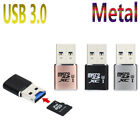 High Speed USB 3.0 Mini Metal Card Reader/MICRO SD/SDXC Aluminum TF Card Reader