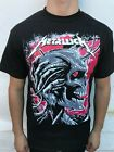 NEW!! METALLICA SKULL HEAVY METAL BAND MEN's T SHIRT image
