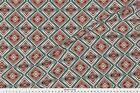 Lozenge Losange South Retro Fabric Printed by Spoonflower BTY