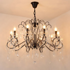Crystal Pendant Light Ceiling Lighting Candle Ceiling Fixtures Lamp Chandelier