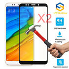 2Pcs 9H Full Covered Tempered Glass Screen Protector For Redmi 5 Plus