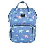 LAND Mommy Baby Diaper Bag Large Capacity Mom Backpack Baby Nappy Tote Bag